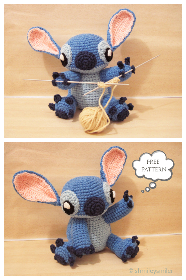 Crochet Toy Stitch Amigurumi Free Patterns