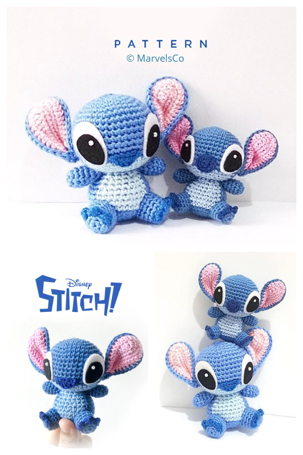 Crochet Toy Stitch Amigurumi Patterns