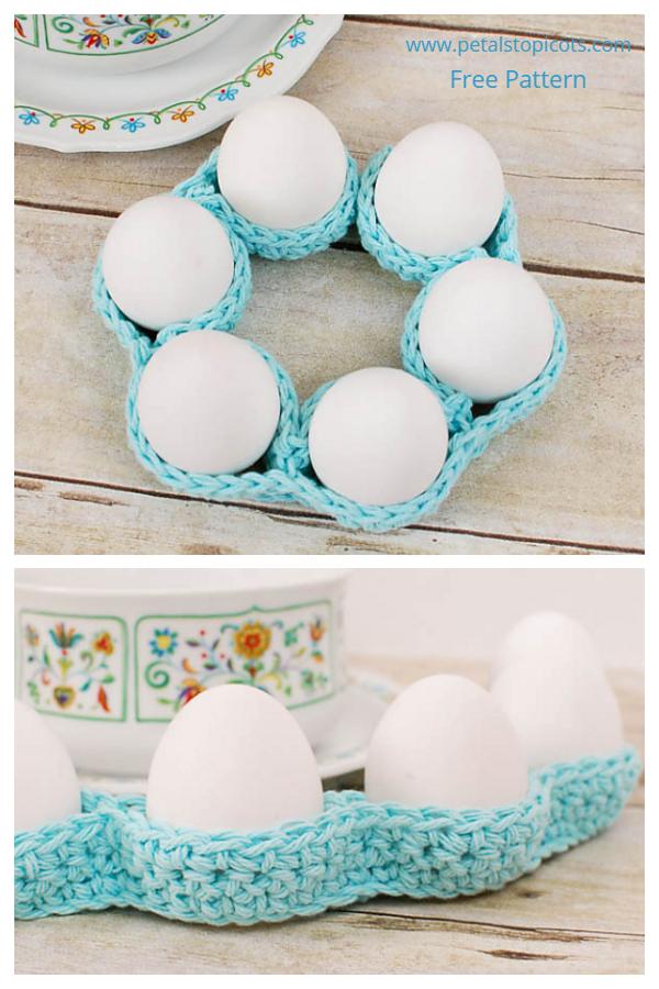 Fun Easter Egg Cozy Table Decor Free Crochet Patterns
