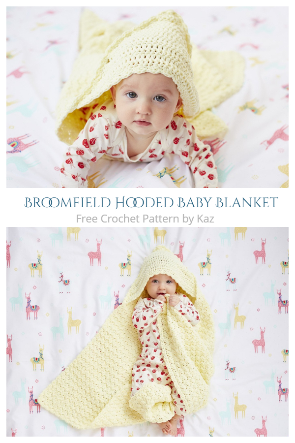 Broomfield Hooded Blanket Free Crochet Patterns