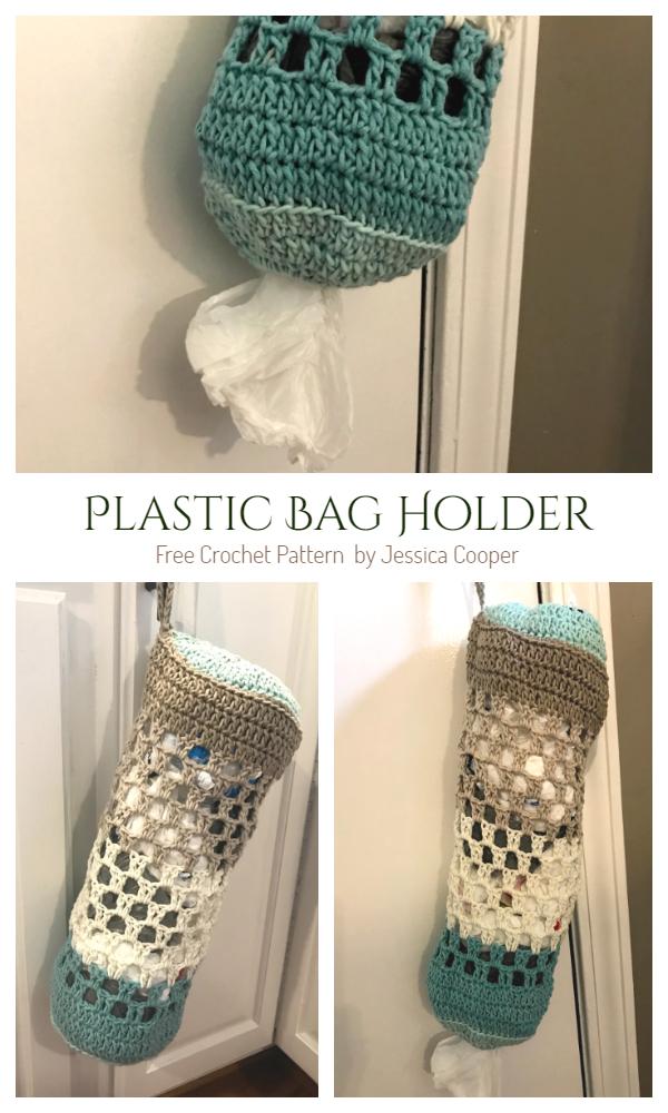 Easy Plastic Bag Holder Free Crochet Patterns