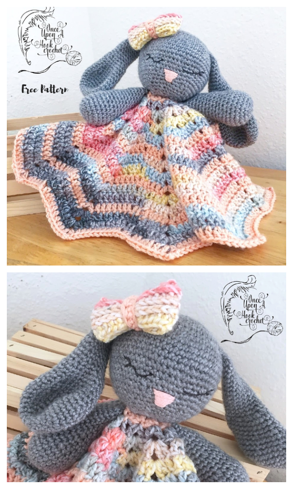 Bunny Lovey Parts & Pieces Free Crochet Patterns