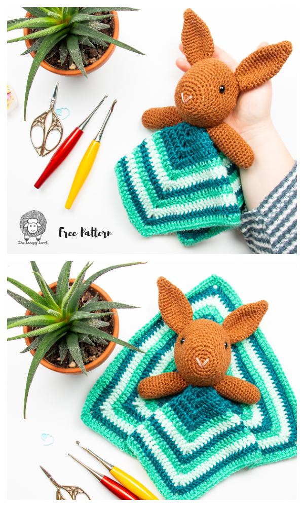 My Cuddle Bunny Lovey Free Crochet Patterns