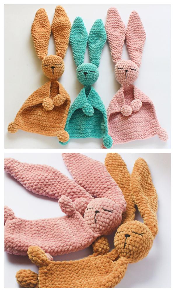 Bunny Lovey Crochet Patterns