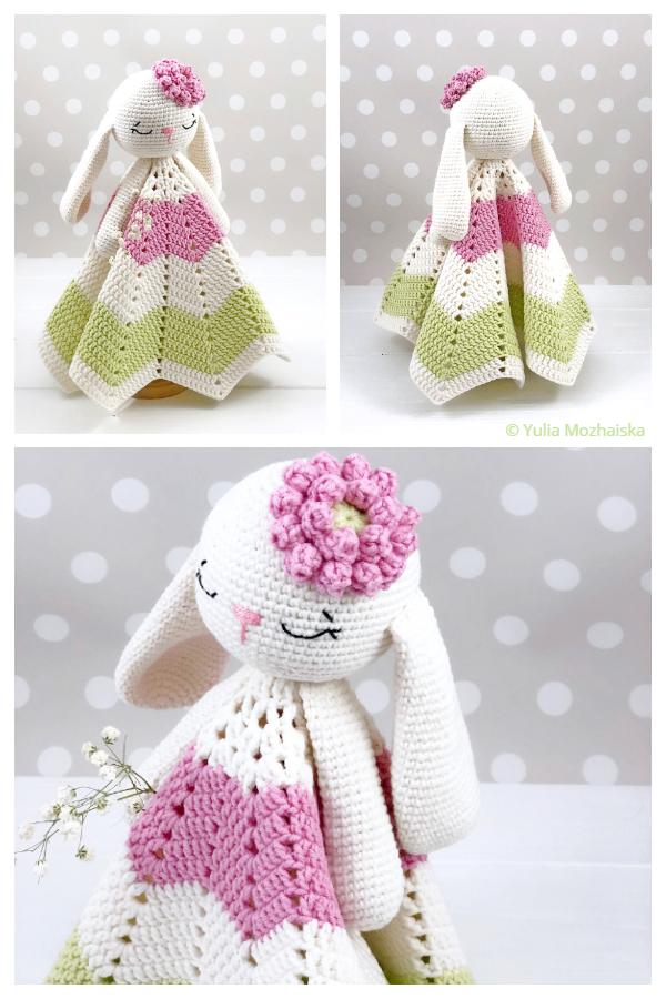 Spring Bunny Lovey Crochet Patterns