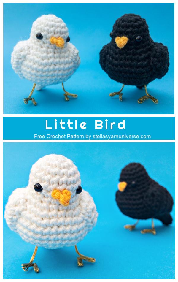 Crochet Little Bird Amigurumi Free Patterns