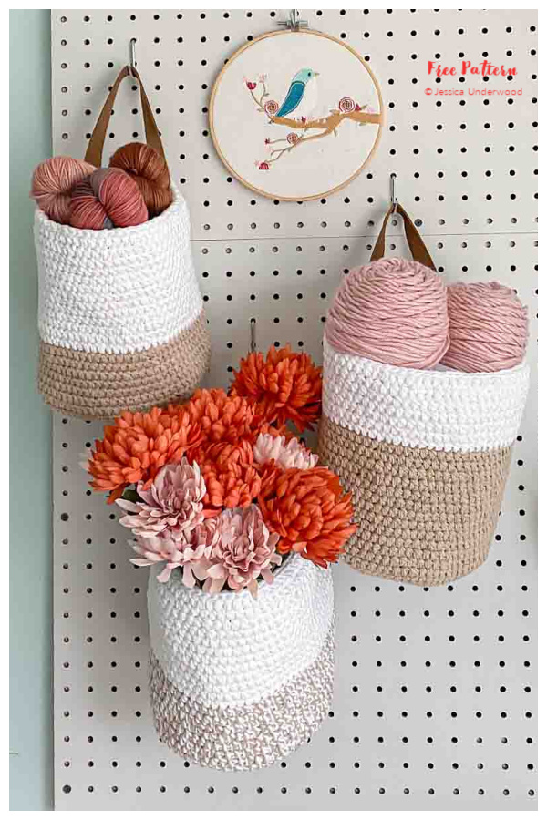 Hartfield Hanging Baskets Free Crochet Patterns