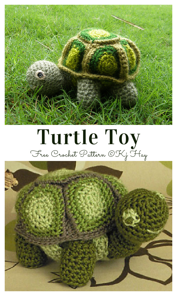 Crochet Little Turtle Amigurumi Free Patterns