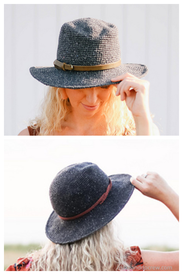 Easy Tate Rancher Hat Free Crochet Patterns