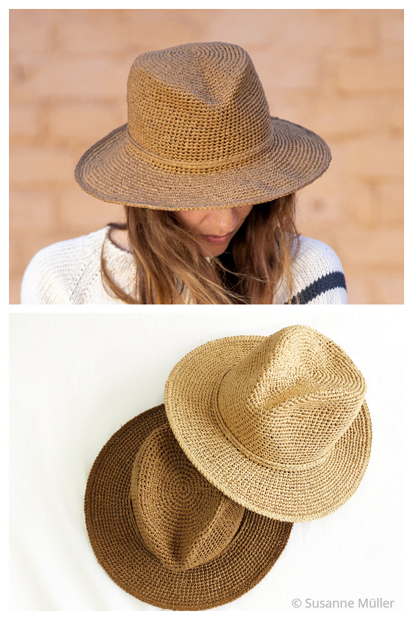 Easy Lucca Hat Crochet Patterns