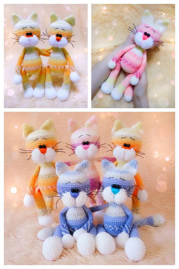 Easy Crochet Cat Murzik Amigurumi Free Patterns