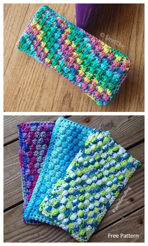 The Swifter Swiffer Mop Cover Free Crochet Patterns