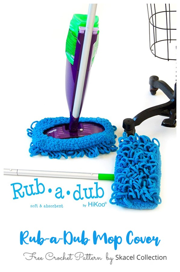 Reusable Floor Mop Duster Free Crochet Patterns