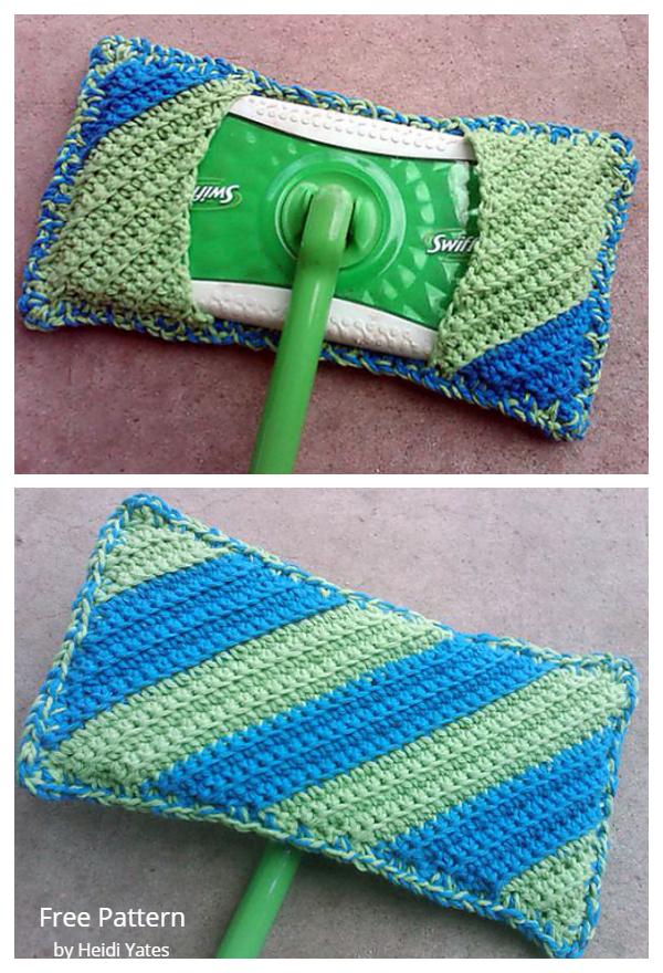 Reusable Dust Bunny Catcher Free Crochet Patterns