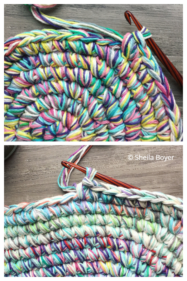 The Scrappy Round Area Rugs Free Crochet Patterns