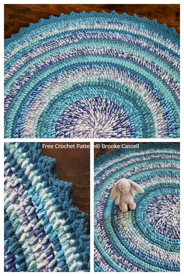 Tummy Time Nursery Rug Free Crochet Patterns