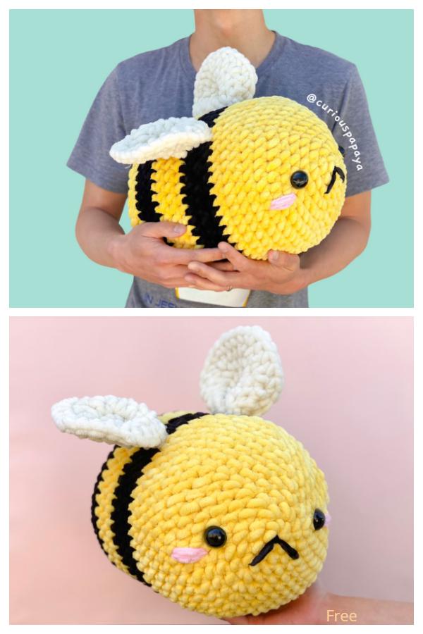 Amigurumi Jumbo the Bee Free Crochet Patterns