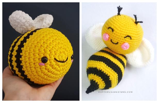 Amigurumi Bee Free Crochet Patterns