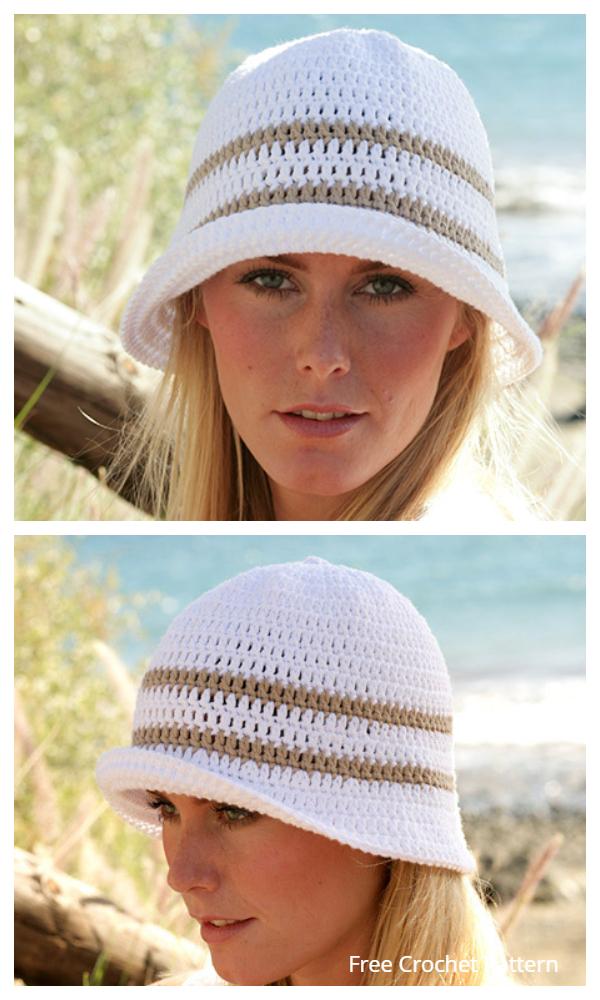 Simple Bucket Hat Free Crochet Patterns