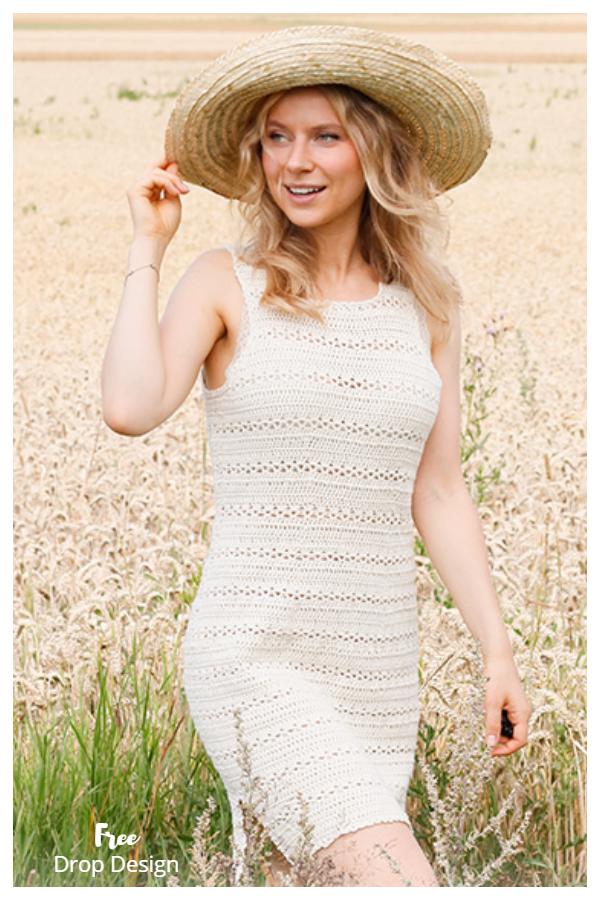 Open Country Summer Dress Free Crochet Patterns