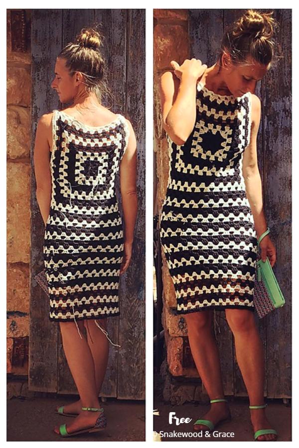 Audrey Summer Dress Free Crochet Patterns
