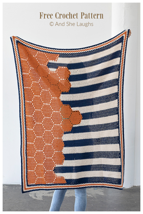 Crochet Honeycomb Baby Blanket Free Crochet Pattern