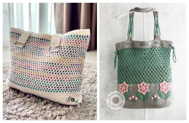 Large Handbag Free Crochet Patterns
