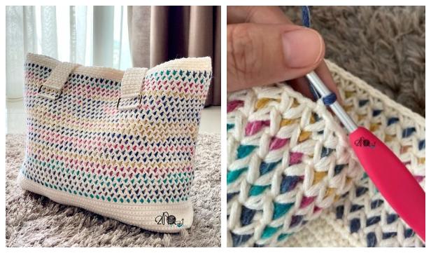 Large Kamala Handbag Free Crochet Patterns