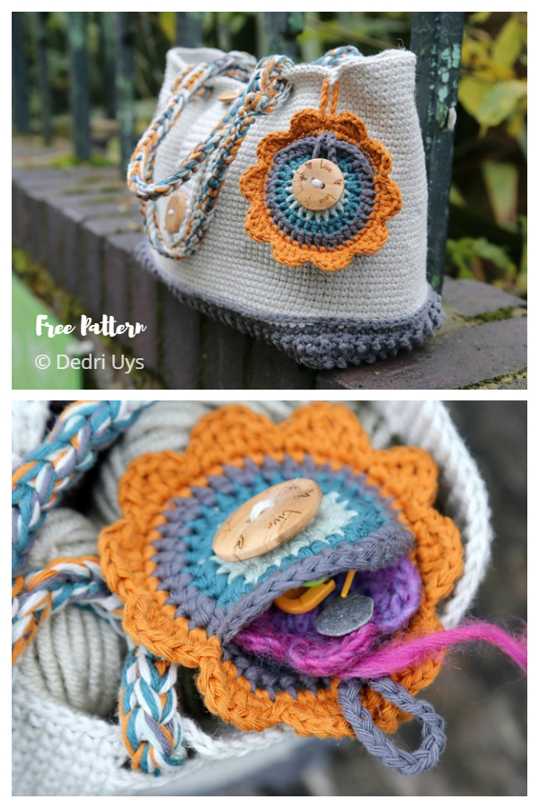 Mighty Fine Day Bag Free Crochet Patterns