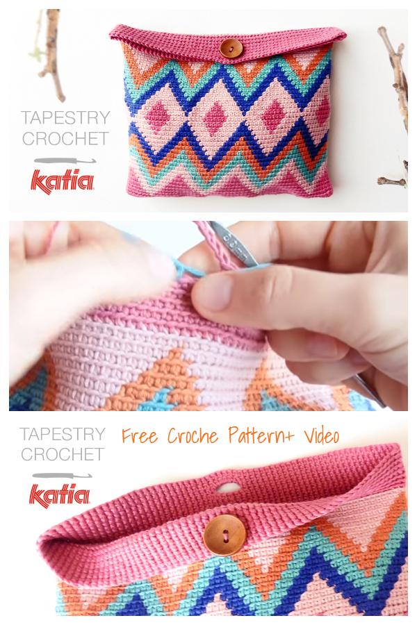 Tapestry Lili Bag Crochet Patterns