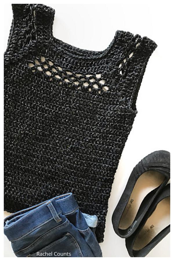 Summer Midnight Top  Free Crochet Patterns