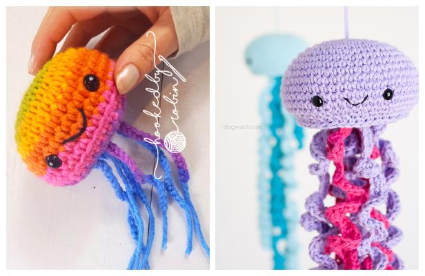 Crochet Friendly Jellyfish Amigurumi Free Patterns