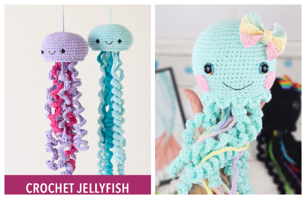 Crochet Jellyfish Amigurumi Free Patterns