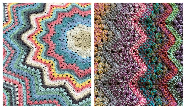 6-Day Blanket Free Crochet Patterns