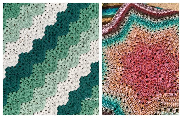 Original 6-Day Kid Blanket Free Crochet Patterns