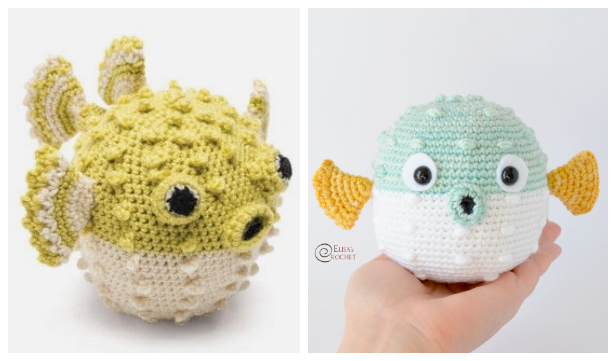 Amigurumi Carrie the Blowfish Free Crochet Patterns