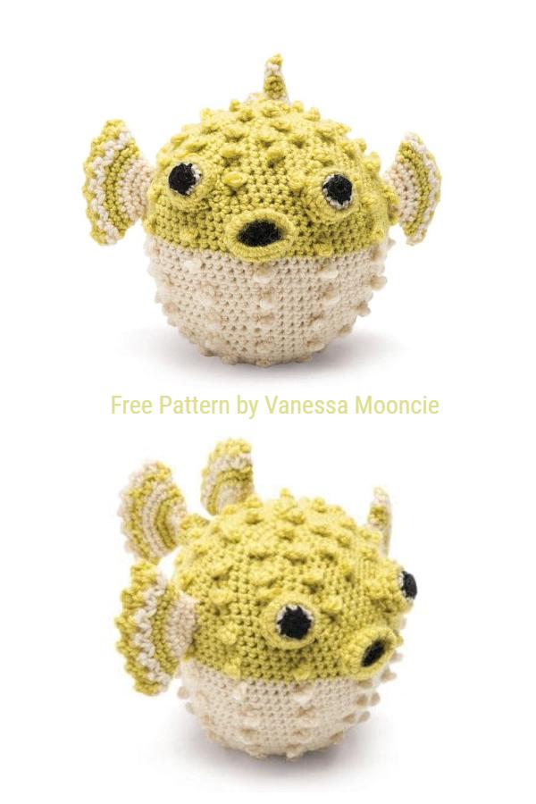 Amigurumi Puffer Fish Free Crochet Patterns