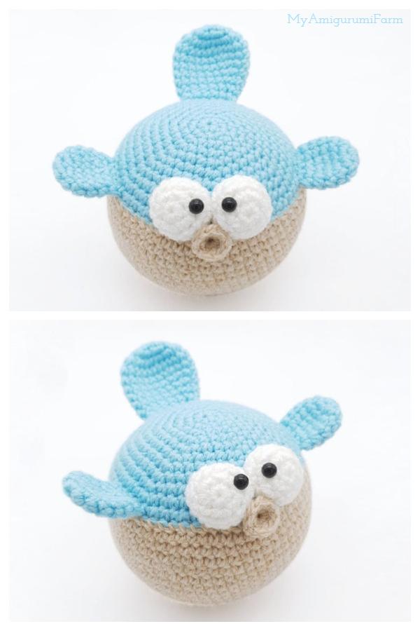 Amigurumi Puffer Fish Crochet Patterns