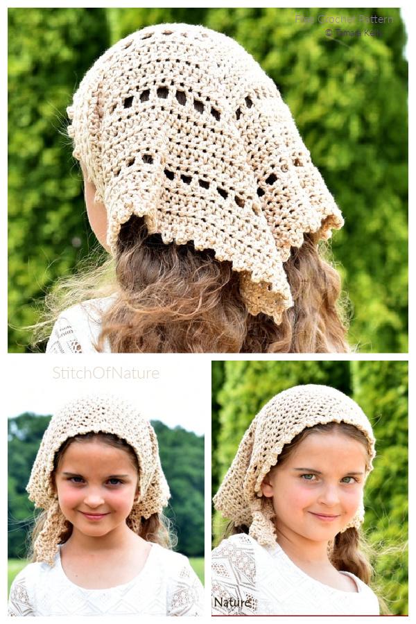 The Catalina Kerchief Crochet Patterns