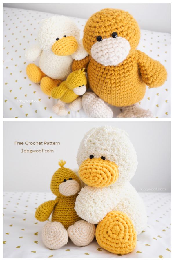 Crochet Stanley Duck Amigurumi Free Patterns