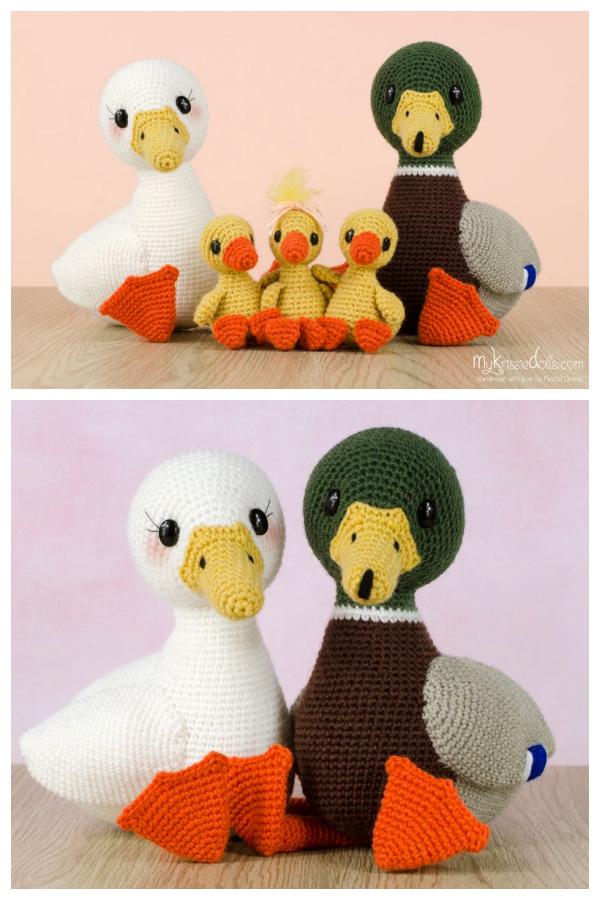 Crochet My Little Ducks Amigurumi Patterns
