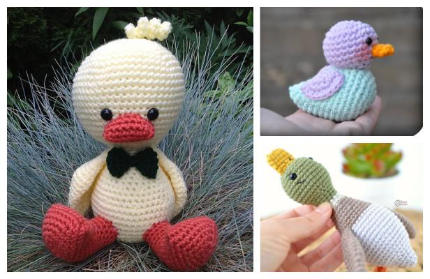 Crochet Duck Amigurumi Free Patterns