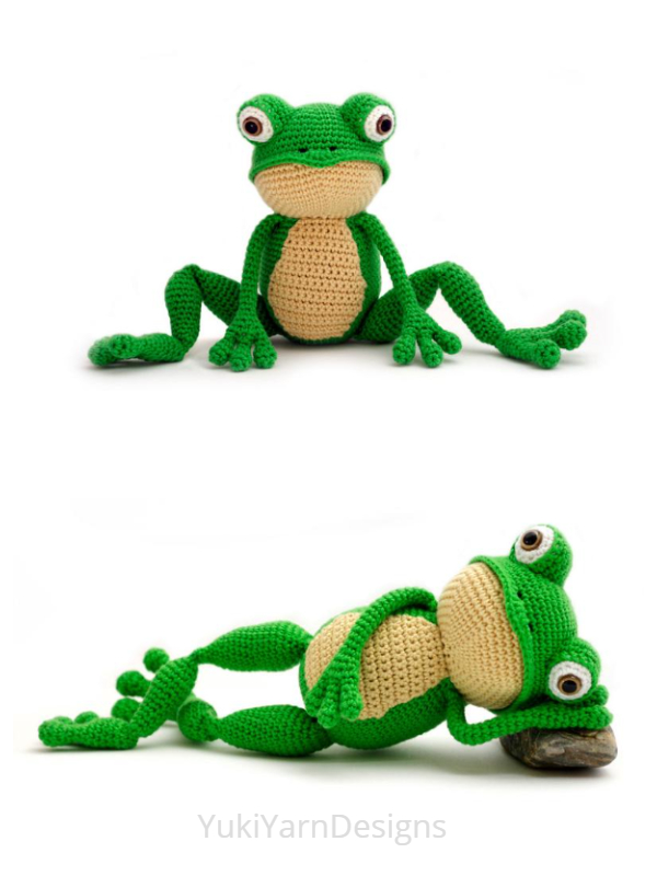 Crochet Toy Frog Amigurumi Patterns