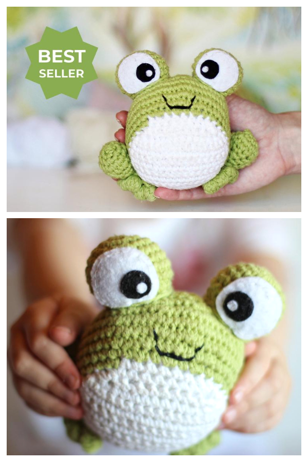 Crochet Toy  Baby Frog Nursery Amigurumi Patterns