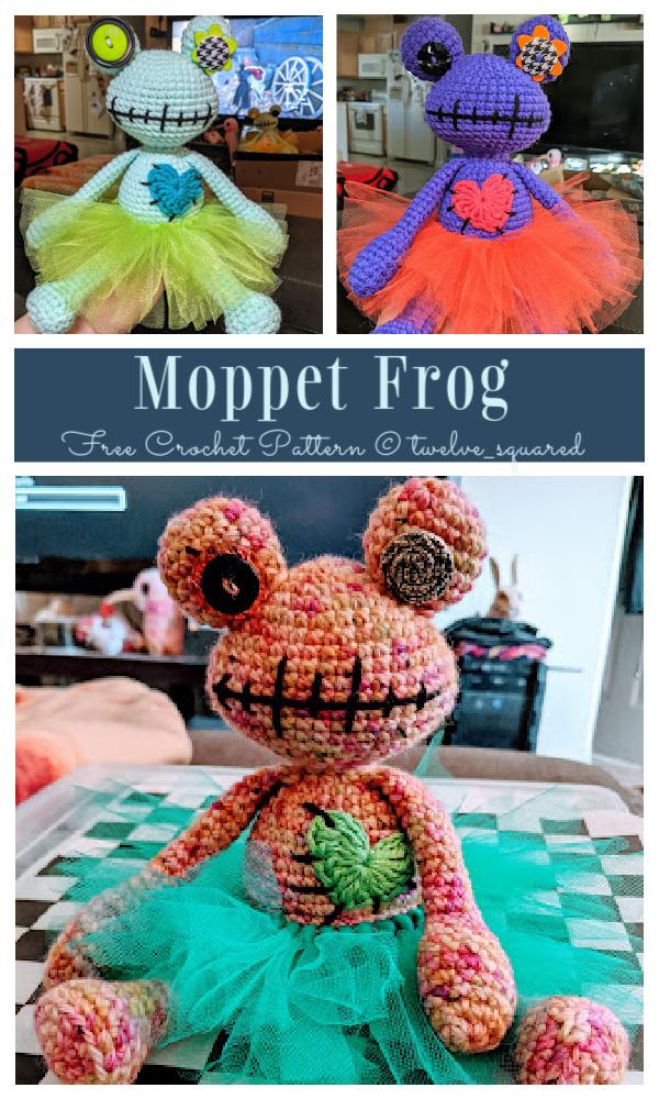 Crochet Moppet Frog Amigurumi Free Patterns