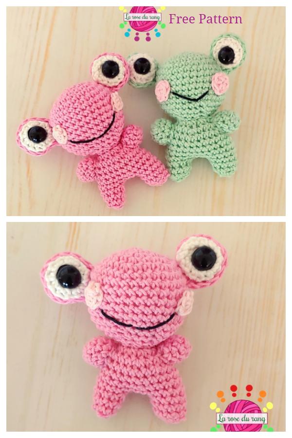 Crochet Toy Frog Friend Amigurumi Free Patterns