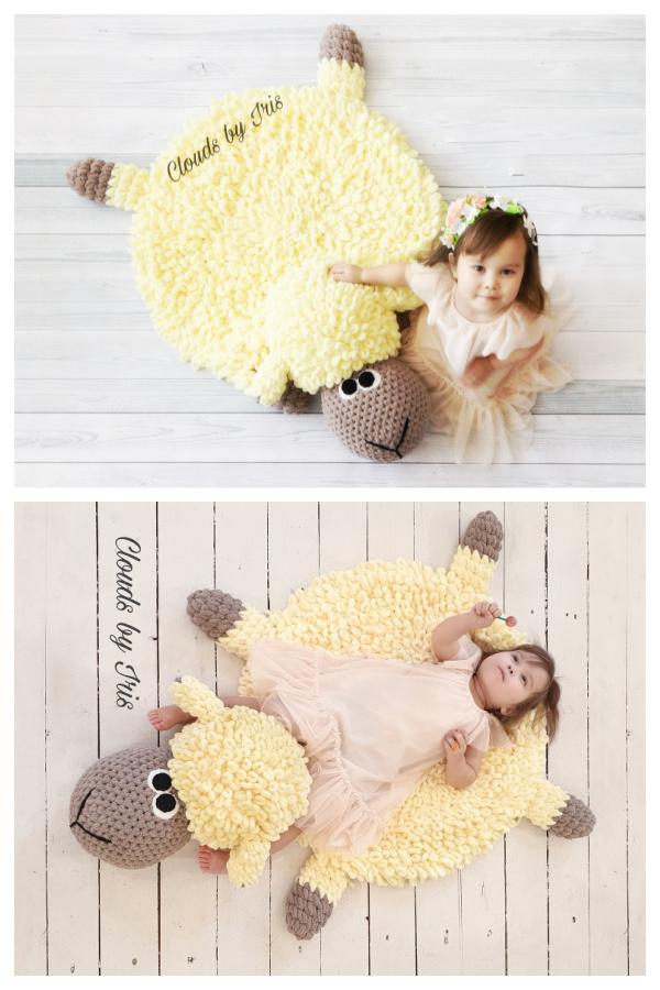 Fun Animal Rugs Crochet Patterns for Kids f1