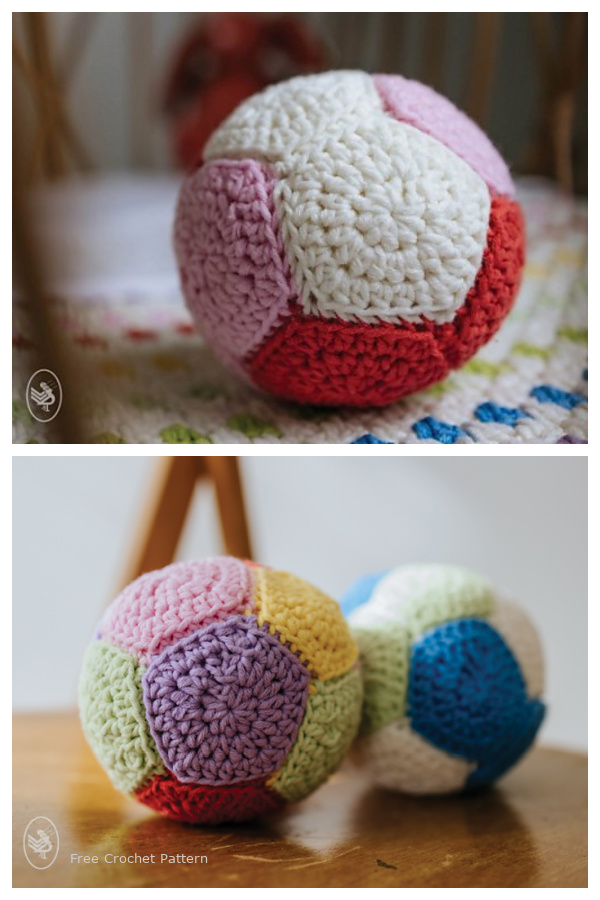 Soft Toy Ball Free Crochet Patterns