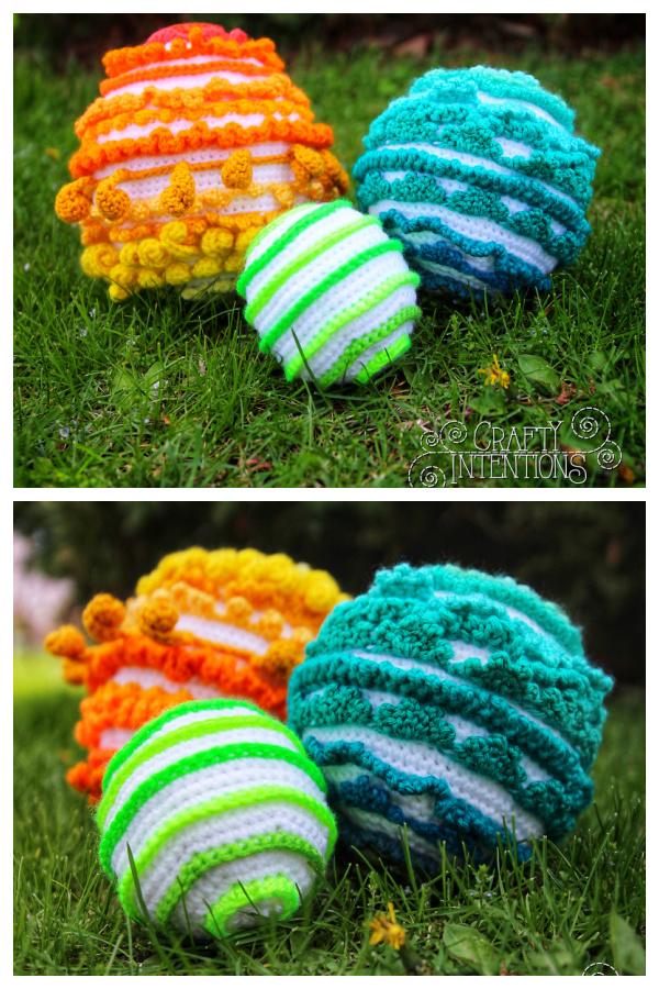 Soft Sensory Toy Balls Crochet Patterns