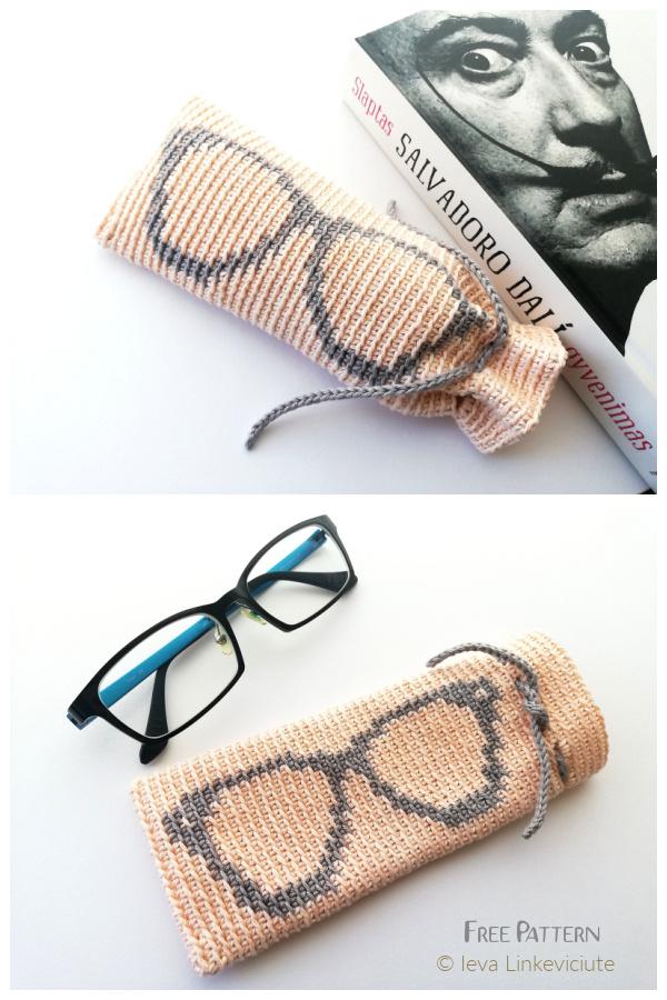 Dynamite Eyeglass Cases Free Crochet Patterns
